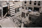 多国联军空袭也门荷台达 致52名平民死亡百余人伤