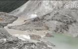 金沙江堰塞湖已自然泄流 专家:出现溃坝可能性不大