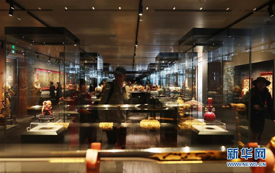 宝库匠心馆开馆特展在位于上海浦东陆家嘴的上海中心举行