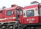 土耳其两列火车相撞