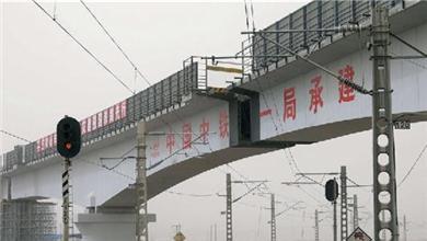 我国首座高海拔转体梁桥成功合龙