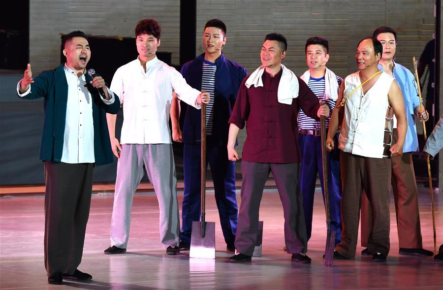 (文化)(1)《焦裕禄之歌》——纪念焦裕禄同志逝世55周年专题音乐会在开封举办