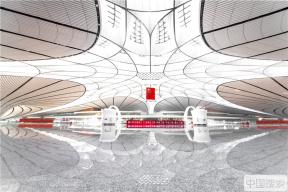 倒计时!北京大兴国际机场竣工在即 提前探访机场内景