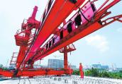郑许铁路建设正酣 计划2020年底试运营