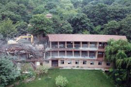 郑州五云山跑马场、高尔夫球场正拆除 多栋别墅待认定
