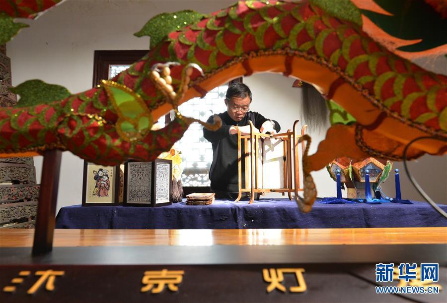 (图片故事)(1)张俊涛:让更多人了解传统灯笼文化