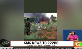 一架运载新冠肺炎医疗物资飞机在索马里坠毁,疑被击落
