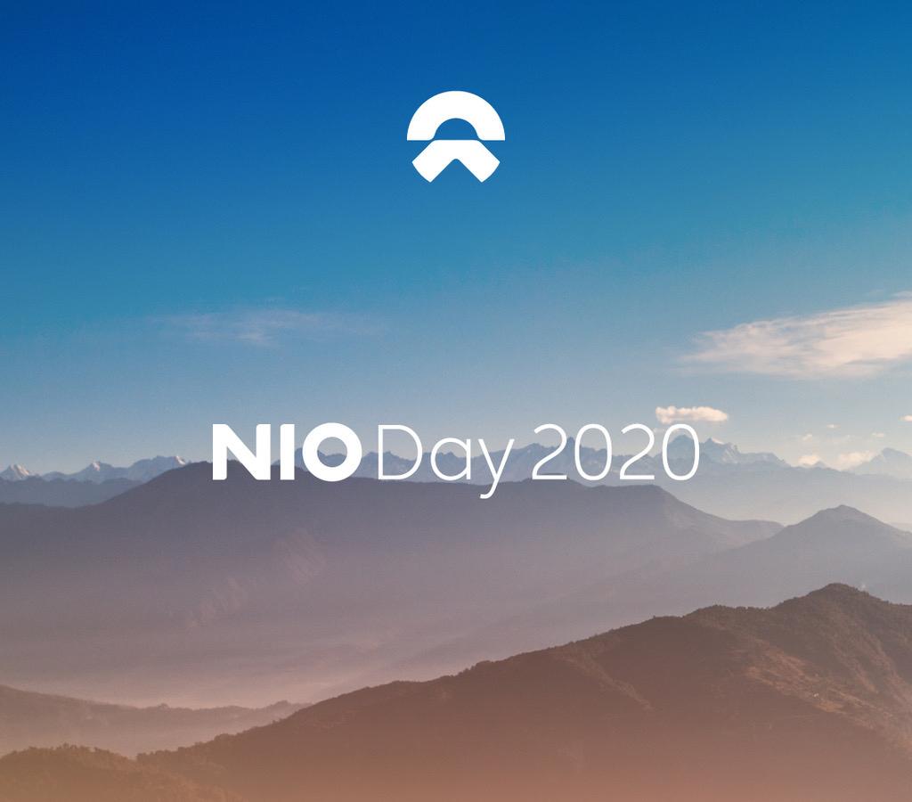 蔚來NIO Day 2020定於2021年1月9日舉行