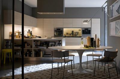 现代欧式风格小户型厨房设计图赏