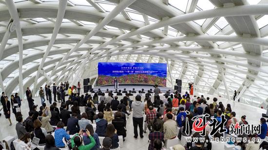 """多彩贵州服务""""一带一路""""高峰论坛旅游推介会在北京召开"""