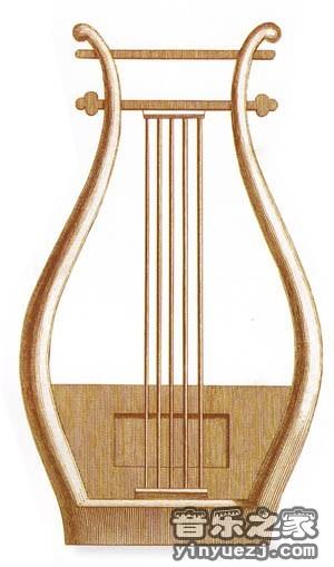 里拉琴据说由宙斯授予阿波罗,因此演奏里拉常常与阿波罗崇拜联系.图片