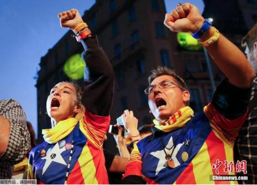 近年来加泰罗尼亚独立运动的高涨