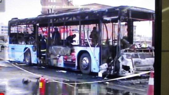 银川公交纵火案:嫌犯系因与人纠纷报复社会