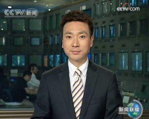 康辉 新闻联播主持人图片