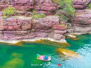 云台山:神奇红石峡,山水盆景园