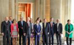 比利时国王在皇宫接待马云