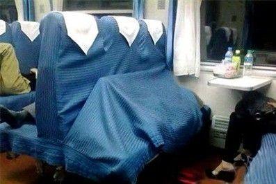 no.131 春运火车上的奇葩睡姿