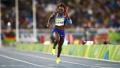 4x100接力美国女队强势夺金 牙买加遗憾摘银