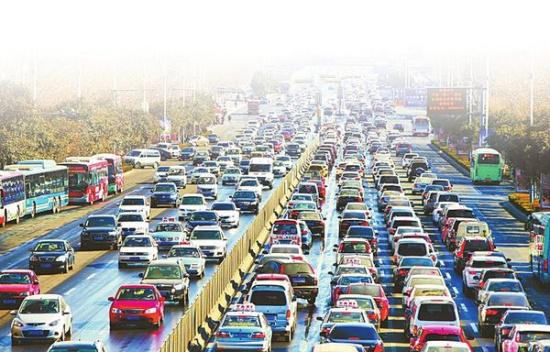 济南/核心提示:根据高德地图交通大数据监测显示,受到降雨影响,...