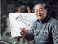 83岁画家闵庚灿在市民中心开画展,此生不了杭州情