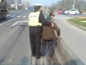 最慢的人行道执勤