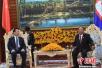 陈昌智率中国全国人大代表团访问柬埔寨
