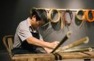来117艺术中心看竹编展 这些作品竟然都是竹子制作的