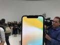 iPhone X现场实拍