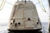 国际空间站停留一个月 SpaceX太空舱返地球