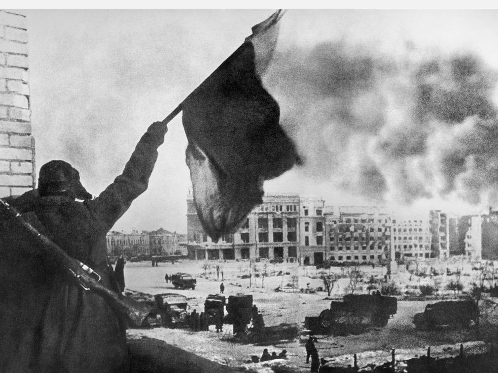 斯大林格勒战役珍贵画面