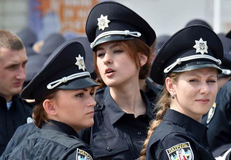 这些女警颜值堪比小姐