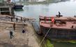再见采砂船!钱塘江杭州段最后一艘采砂船拆解