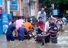 孟加拉国严重内涝