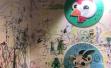"""孩子""""画出框"""":绘本展上整面墙被画满,柜子凳子桌子都遭殃"""
