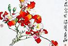 在画里看花开叶落