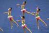 2017年中国学生艺术体操锦标赛在京举行