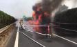 """""""双11""""浙江高速公路一货车起火,4500多件快递被烧毁"""