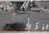 美国驱逐舰训练中与日本拖船相撞