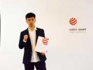 浙研究生获红点设计大奖:可折叠电动滑板车击败近5千件作品