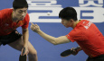 中国乒乓球队团体世界杯赛开门红
