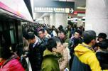 受降雪影响 沈阳地铁昨日客流量增加20.6%