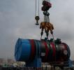 红沿河核电二期工程进入核岛主设备安装高峰