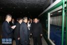 朝方专列运送遇难者遗体和伤员回国