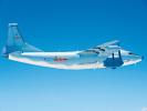 台军:解放军运-8干扰机昨日在台海中线以西巡航