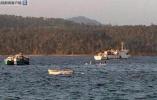 印度安德拉邦船只发生倾覆 23人失踪