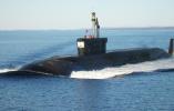 """俄罗斯核潜艇齐射4枚""""布拉瓦""""导弹试验成功 命中预定目标"""
