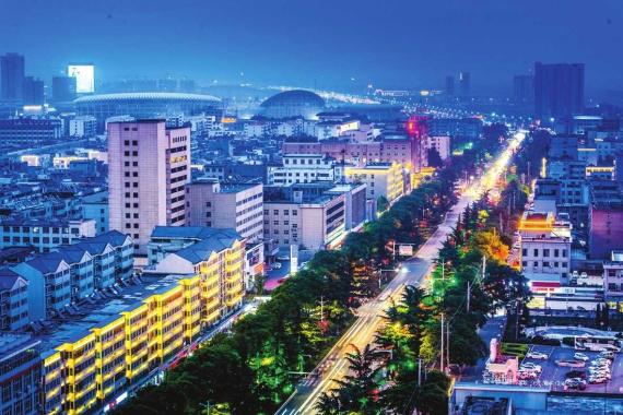 河南汝州:清新美丽文明之城芳容初现