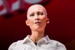 机器人网红索菲亚:2040年世界大部分政府会给机器人市民待遇