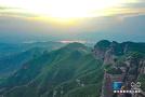 纵览燕赵山河|航拍临城天台山 畅游嶂石岩地貌景观