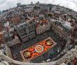 比利时展1800平方米鲜花地毯